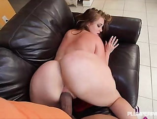 Curvaceous whore Sara Jay rides a cock that she cant control