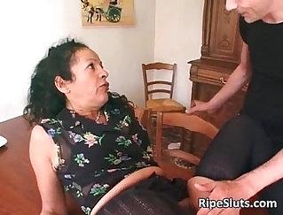 Strangers surprise slut inspection