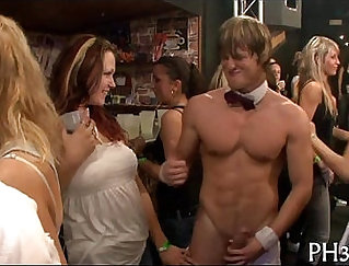 Caleb Manning and Michelle Have a Fun Party