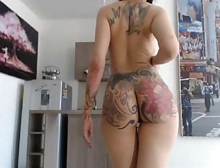 Amazing sexy bitch with pierced nipples Cristina Brill ass hammered