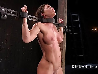 Busty bed Slave Asty Ridley Getting a Double Role