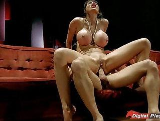 Big tits pornstar blowjob and anal fuck