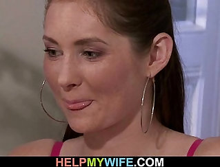 Cuckold Wife Fucks In Front Of Husband