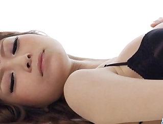 Arisa Hanai solo handjob maid and gets fucked in bondage bound girl boy of love