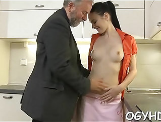 Busty Laura Calipso was eager to be fucked by young and dirty