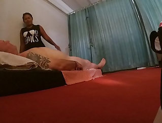 Blowing Great Balls At Massage Turns Into A Mess