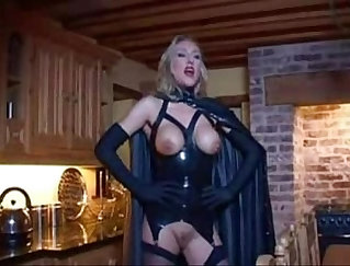 Andi holds in her kinky fetish views