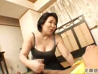 asian mature gets exam by stud