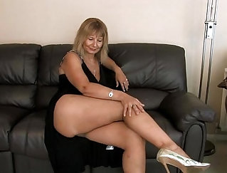 Busty Chick Solo Riding And Fingering