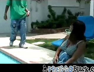 Black Pregnant Chupai and Tickling