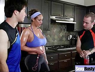 Chubby mature masturbating her big melons