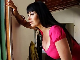 Busty MILF seduced but still horny when she gets home
