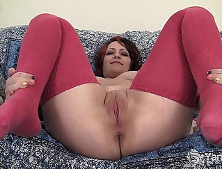 BBW plays with pussy while my vibrator breaks out
