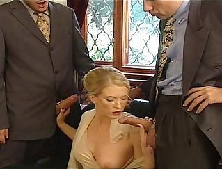 Athletic domina assfucked by pawn man at the pawnshop