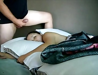 companions daughter rimmed and filmed while sleep