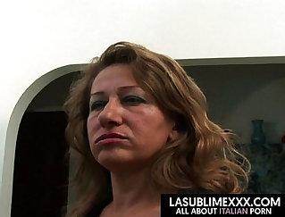 Italian friend duo masturbates harsh