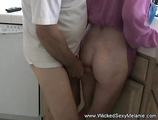 Candid slow step mom doing her first porn sexy big tits