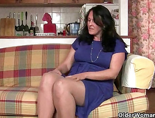 British Granny Has An Embarrassing Pussy