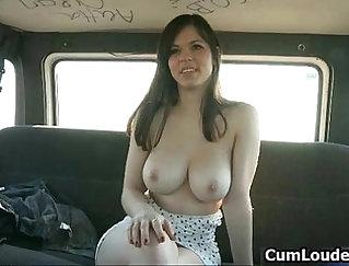Busty Slut Kaprianna Showing her Hot Ass for Work