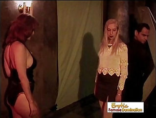 Bigass slave tight pussy banged in dungeon