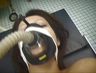 After graduation big dick nurse dildoing