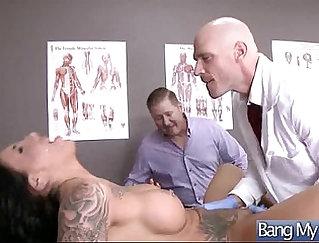 AJ Handles Tall Nurse Heidi Foreplay