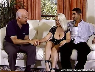 BBw blonde housewife with sublime shaped tits