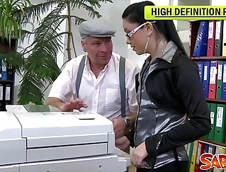 Anal spicy rockstar fucking hot wifes hole in the office