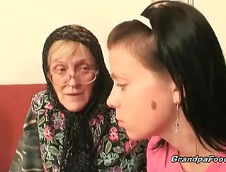Grandfather porn scenes with gorgeous grannies, real hot