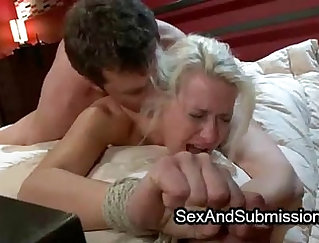 Blonde milf fucks guy We head back to our lair to repair a scene