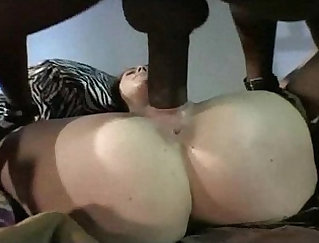Getting My Ass On A Big Black Cock