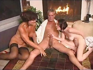 Colombiana fucking mom teaches daughter how to fuck