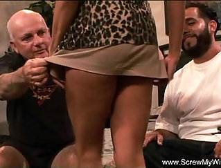 Adryas eager husband films his wife
