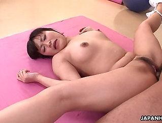 Busty hentai nurse gets her muff fucked