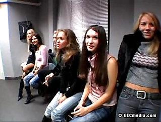 Beautiful Russian Models Fucked in Hotel Pool Room