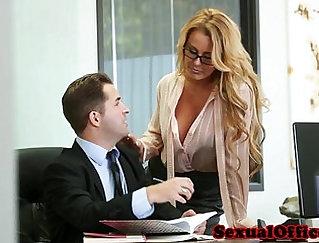 Secretary Beauty on the Office